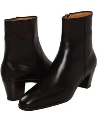 Gravati - Leather Ankle Boot (brown 2) Women's Dress Zip Boots - Lyst
