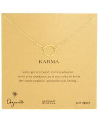 Dogeared - Karma Necklace 16 Inch - Lyst