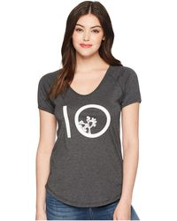 Tentree - Leaf Ten T-shirt (phantom) Women's Clothing - Lyst