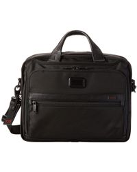 Tumi - Alpha 2 - Organizer Brief (black) Briefcase Bags - Lyst