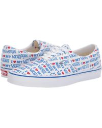 Vans - Eratm ((primary Check) True Blue white) Skate Shoes - a790be2ab