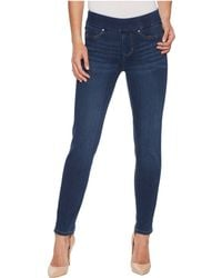 Liverpool Jeans Company - Meredith Ankle Slim Pull-on In Silky Soft Denim In Elysian Dark - Lyst