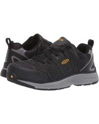 Keen Utility - Sparta Aluminum Toe Esd (black/grey Flannel) Women's Work Boots - Lyst