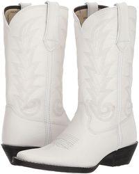 016f699061d6 Durango - Western 11 Narrow Square Toe (black Beauty) Cowboy Boots - Lyst