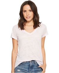 Alternative Apparel - Ideal V-neck (lilac Orchid) Women's Short Sleeve Pullover - Lyst