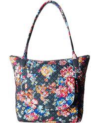 bc811c0b2b49 Lyst - Vera Bradley Carson Denim East West Tote Bag in Blue - Save 2%