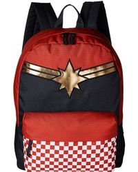 4590bf2900 Vans - Captain Marvel Realm Backpack (racing Red) Backpack Bags - Lyst