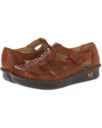 Alegria - Pesca (tawny) Women's Hook And Loop Shoes - Lyst