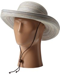 946008870c5 San Diego Hat Company - Mxm1014 Mixed Braid Kettle Brim Hat (tan)  Traditional Hats