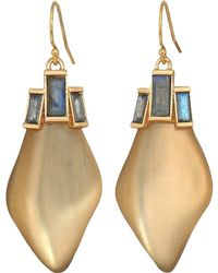 Alexis Bittar - Dancing Baguette Drop Earrings (taupe) Earring - Lyst
