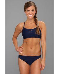 34a4281fba5a98 Nike - Core Solids Sport 2-piece (midnight Navy) Women s Swimwear Sets -