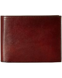 Bosca - Old Leather Collection - Continental Id Wallet - Lyst