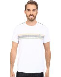 Prana - Calder Short Sleeve Tee (white) Men's T Shirt - Lyst