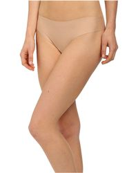 Commando - Butter Mid Rise Thong Ct16 (midnight) Women's Underwear - Lyst