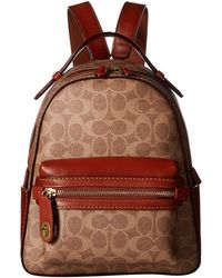 COACH - Campus Backpack 23 In Coated Canvas Signature - Lyst