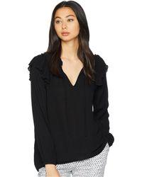 Jack BB Dakota - Love Spell Crinkle Rayon Top (black) Women's Clothing - Lyst
