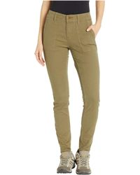 Toad&Co - Earthworks Skinny Pants (rustic Olive) Women's Clothing - Lyst