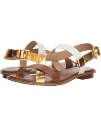 Mackay strappy sandals - Brown Michael Michael Kors RxPtWJhdB