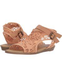 Not Rated - Aleksa (peach) Women's Sandals - Lyst
