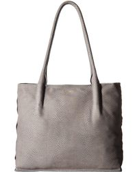 Hammitt - Oliver Zip (mist Snake/brushed Gold) Handbags - Lyst