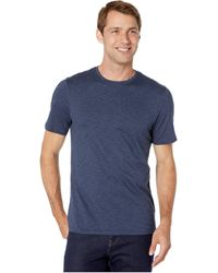 Toad&Co Tempo Short Sleeve Crew - Blue