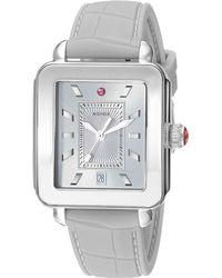 Michele - Deco Sport - Mww06k000009 (gray/silver) Watches - Lyst