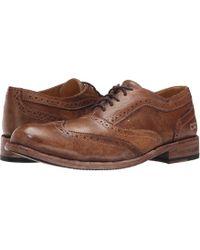 Bed Stu - Corsico (corte Black Plantilla Betta) Men's Lace Up Wing Tip Shoes - Lyst