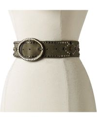 Leatherock - 1717 (black) Women's Belts - Lyst