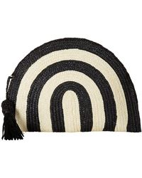 San Diego Hat Company - Bsb1723 Wheatstraw Clutch Stripe With Tassel - Lyst