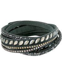 Swarovski - Slake Pulse Bracelet (grey) Bracelet - Lyst