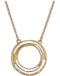 "The Sak - Small Swirl Pendant Necklace 16"" - Lyst"