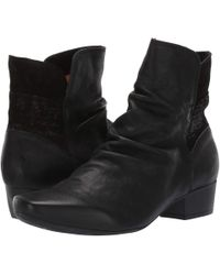 Think! - Karena - 83186 (black) Women's Pull-on Boots - Lyst