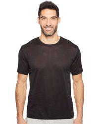 Hanro - Cotton Sporty Short Sleeve Shirt (white) Men's T Shirt - Lyst