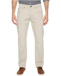 7 For All Mankind - The Straight Tapered Straight Leg W/ Clean Pocket In White Onyx - Lyst