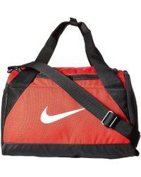25c017eec4 Nike - Brasilia Duffel Extra Small (rush Pink black white) Duffel Bags