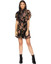 Bishop + Young - Victoria Burnout Mini Dress (assorted) Women's Dress - Lyst