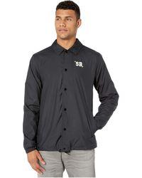 Nike Shield Coaches Jacket - Black