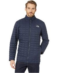 fe4bbd7f87 The North Face - Thermoball Jacket - Tall (urban Navy Matte mid Grey)