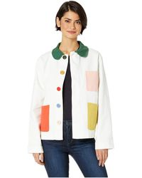 4c68806d52e Ban.do - Color Pop Work Jacket (ivory) Women s Clothing - Lyst
