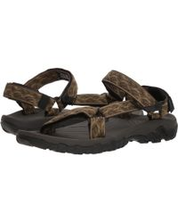 Teva - Hurricane 4 (wavy Trail Navy) Men's Shoes - Lyst