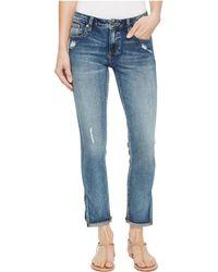 Miss Me - Ankle Skinny Jeans In Vintage Blue - Lyst