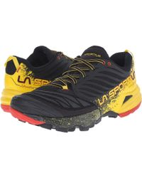 La Sportiva - Akasha (black/yellow) Men's Shoes - Lyst