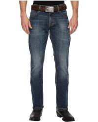 Wrangler - Retro Slim Straight Jeans (dark Knight) Men's Jeans - Lyst