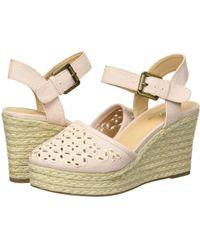 Skechers - Turtledove (light Pink) Women's Wedge Shoes - Lyst
