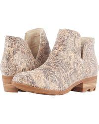 Sorel - Lolla Cut Out (black Full Grain Leather) Women's Shoes - Lyst