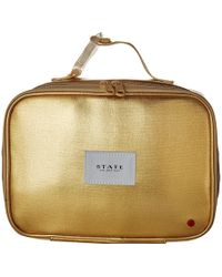State Bags - Metallic Rodgers Lunch Box (gold) Bags - Lyst