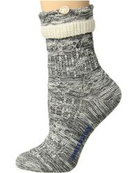 Birkenstock - Cotton Structure Sock (peppercorn) Women's Crew Cut Socks Shoes - Lyst