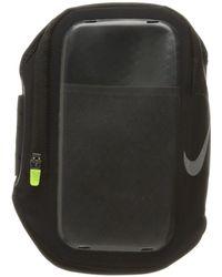 Nike - Pocket Arm Band (black/black/silver) Athletic Sports Equipment - Lyst
