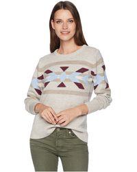 Pendleton - Heritage Merino Pullover (natural Multi) Women's Sweater - Lyst