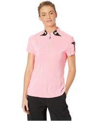 Jamie Sadock - Crunchy Short Sleeve Top (luminosity Pink) Women's Clothing - Lyst